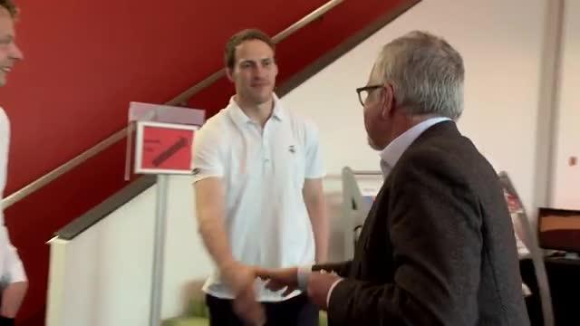Schopper fährt das Audi-Forschungsauto Jack
