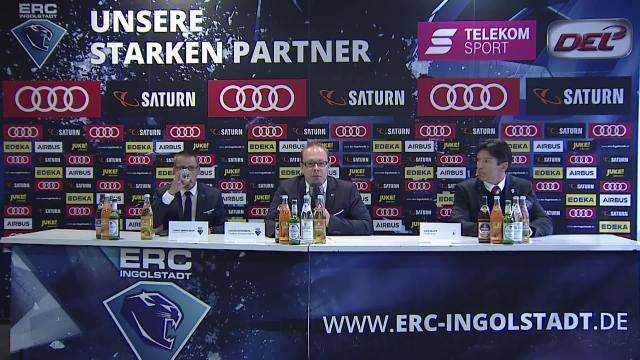 PK: ERC Ingolstadt - Eisbären Berlin