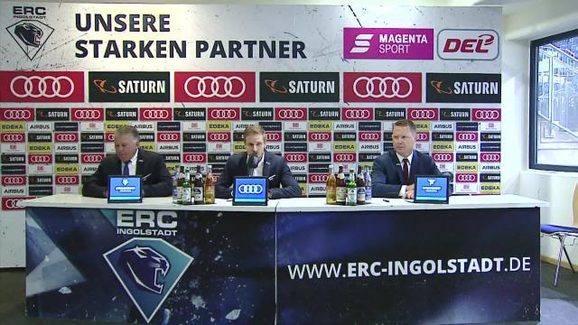 PK: ERC Ingolstadt vs. Kölner Haie