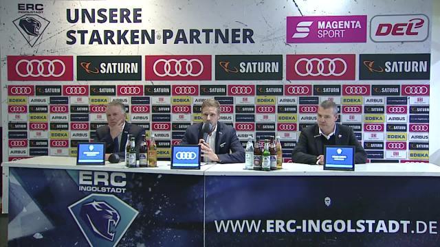 PK: ERC Ingolstadt vs. Eisbären Berlin