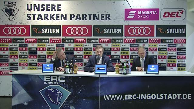 PK: ERC Ingolstadt - EHC Red Bull München