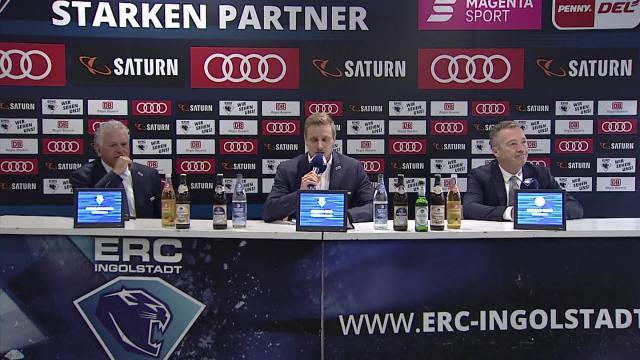 PK: ERC Ingolstadt vs. Düsseldorfer EG