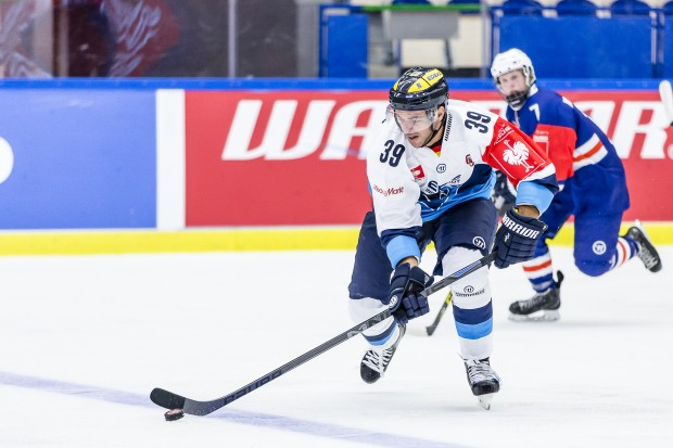 Thomas Greilinger gegen Växjö. Foto: Växjö Lakers via Getty Images