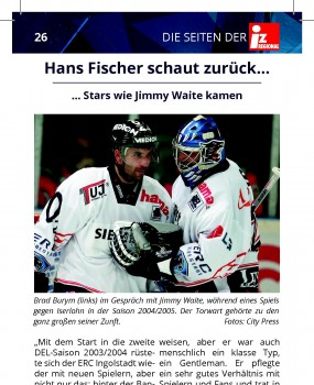 Hans Fischer Jimmy Waite