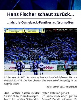 Hans Fischer Comeback Panther