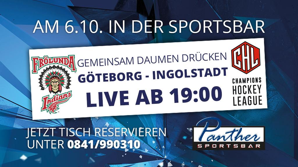Frölunda News: Frölunda-Spiel Live In Der Sportsbar