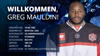 Speedy forward for the Panthers: Greg Mauldin.