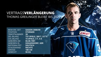 Good news: Greilinger has signed for two more years.