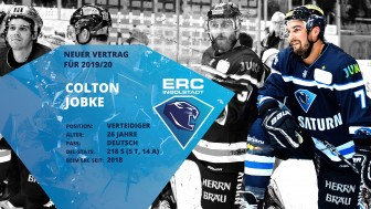 Continues to play for the Panthers: Colton Jobke. [Grafik mit Foto von st-foto]