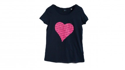T-Shirt Damen Herz